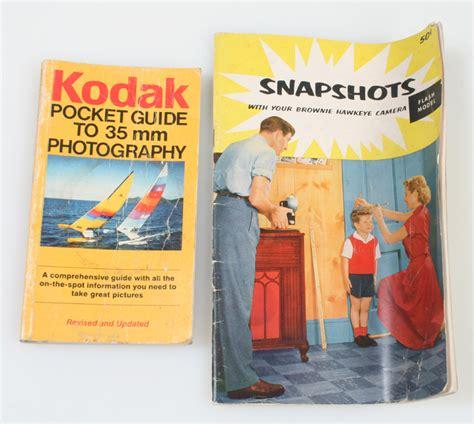 kodak picture books brownie hawkeye snapshots kodak pocket guide to