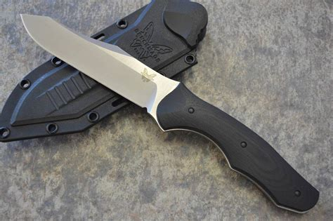 tactical kydex knife sheath benchmade 183 contego fixed s30v blade tactical knife w