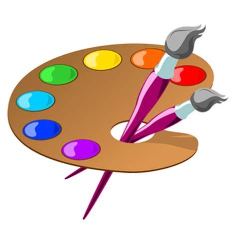 printable art palette artist palette free clipart