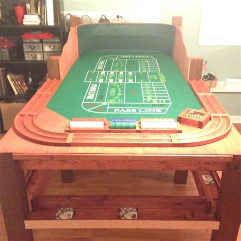 homemade craps tableget  game  southern