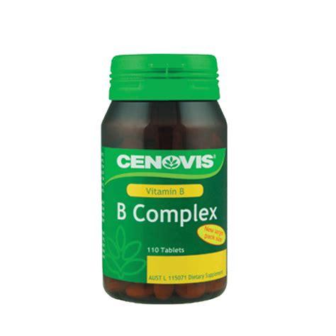 Vitamin B Complex Tablet Cenovis Vitamin B Complex 110 Tablets Chemist Warehouse