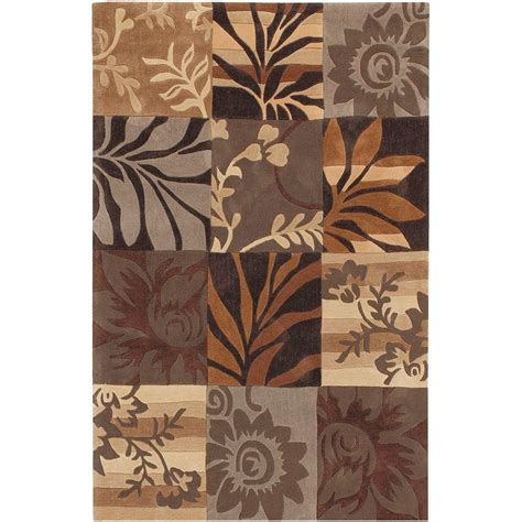 brown and gray rug artistic weavers equinox grey and brown 9 ft x 12 ft area rug eqn4801 912 the home depot