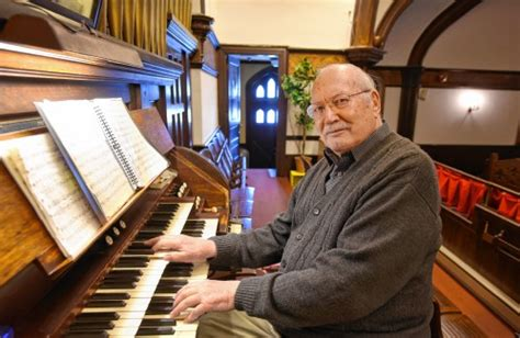 Methodist Recorder Announcements Athol S Donald Ainsworth Still The Piano At 90
