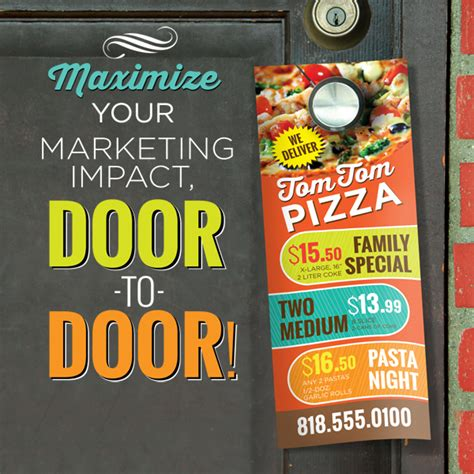 Door Hanger Printing by Custom Door Hangers Are Important For Businesses