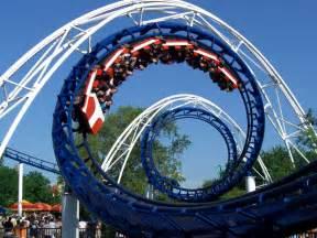The Roller Coaster Corkscrew Cedar Point