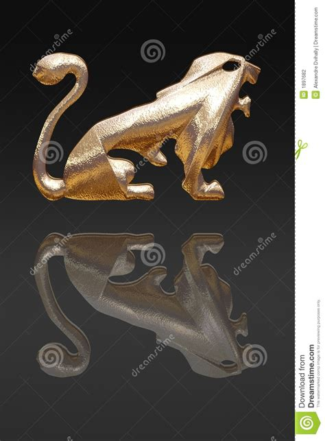 horoscope zodiac gold metal stock photography image