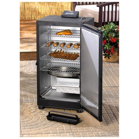 find the best digital electric bbq smoker for you masterbuilt 30 quot digital electric stainless steel smoker