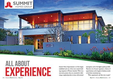 summit home improvements business world international