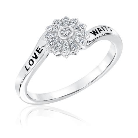sterling silver purity ring ebay