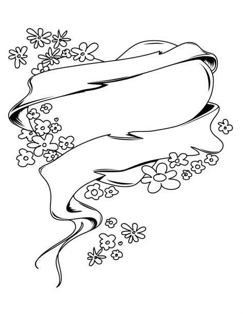 printable hearts and flowers free printable heart coloring pages for kids