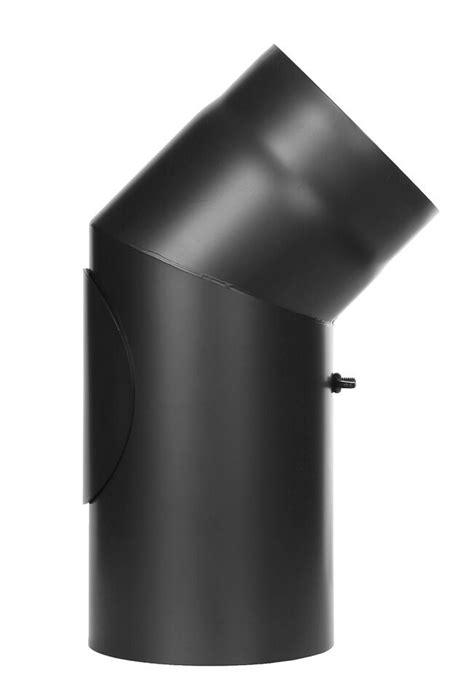 Prix Insert A Granule 1409 by Coude Fixe 45 176 Avec Trappe D Entretien Noir Conduit