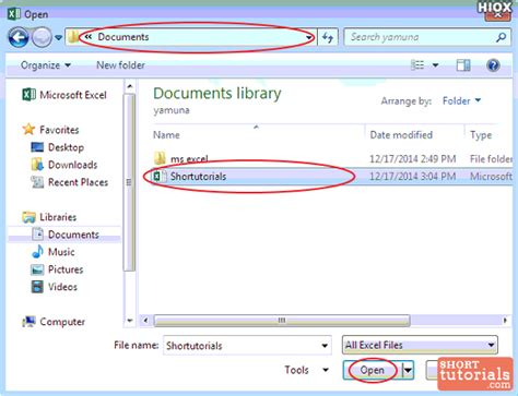 Open Office Excel by How To Open Existing Workbook In Ms Excel 2013