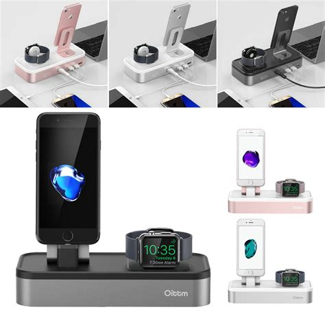 apple  charger dock  ports usb charger stand