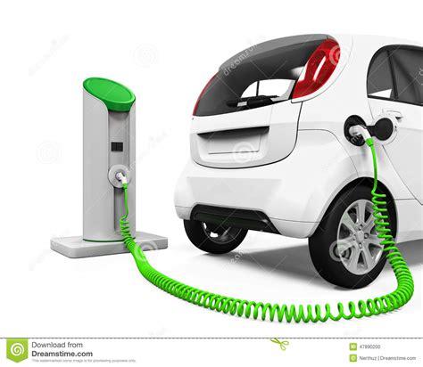 Electric Car Charger 12v20ah elektroauto in ladestation stock abbildung bild 47890200