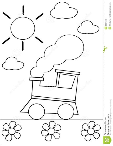 how to house train a 2 year old dog coloring train royalty free stock photos image 32270568