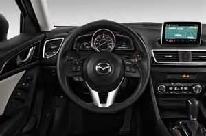 2015 mazda mazda3 steering wheel interior photo