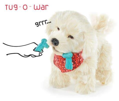 georgie puppy georgie interactive plush electronic puppy toys