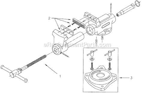 bench vise parts list wilton sbv 100 parts list and diagram ereplacementparts com