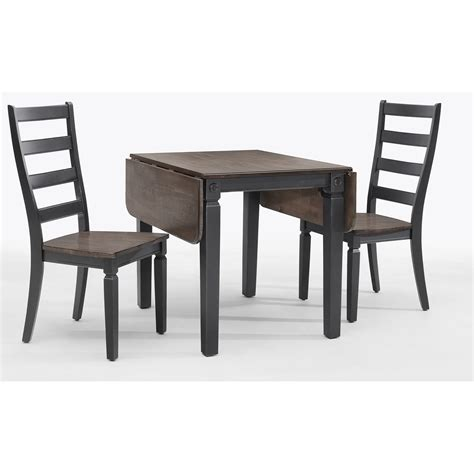 Drop Leaf Table And Chair Set 3 Drop Leaf Table And Ladder Back Chair Set By Intercon Wolf And Gardiner Wolf Furniture