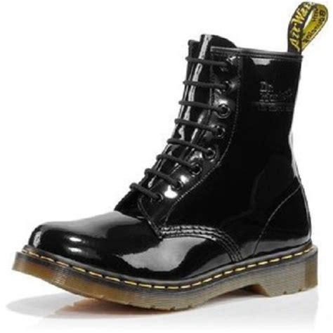 Original Dr Martens original dr martens botas negro charol 7inch style