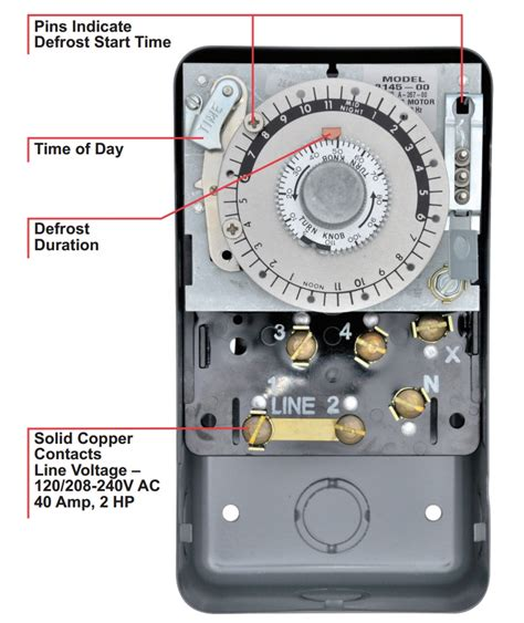 commercial defrost timer wiring free wiring