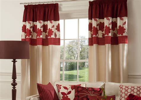Maroon Curtains For Living Room Ideas Maroon Curtains For Living Room Window Treatments Design Ideas