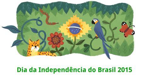 doodle independência do brasil independ 234 ncia do brasil 7 de setembro de 2015 brazil s