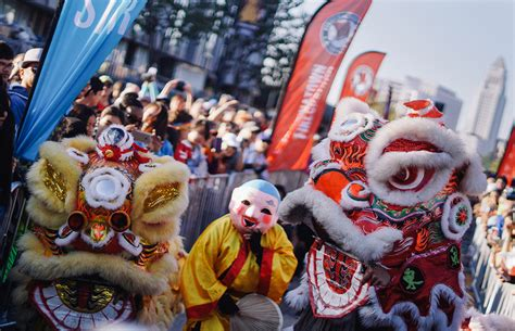 new year firecracker run celebrate the lunar new year in chinatown with