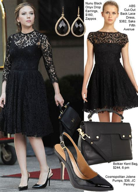 scarlett johansson clothes outfits steal her style copy scarlett johansson s lace look from her next ad