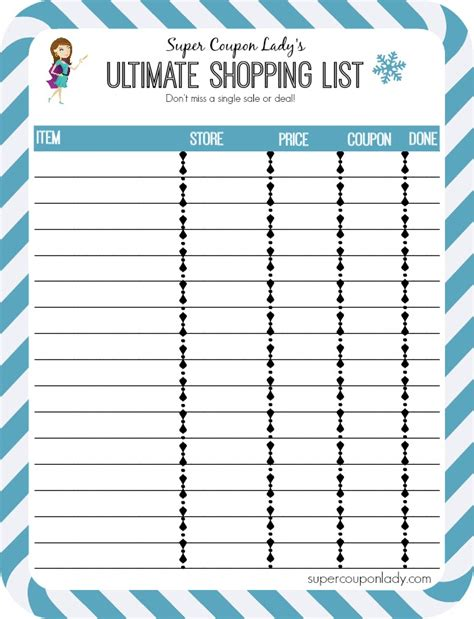 printable budget shopping list free printables budget chart dinner planner and ultimate