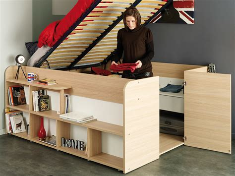 lit avec rangement integre reverba