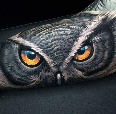 tattoo 3d owl 100 badass tattoos for guys masculine design ideas