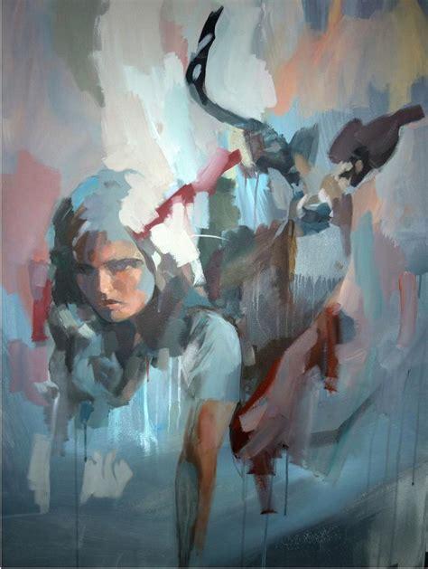 human painting beautiful blurring lines between human nature my modern met