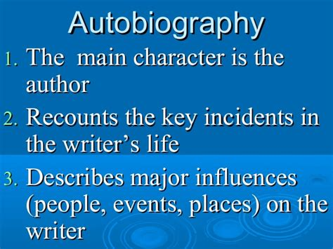 what text structure is a biography text structure l4 autobiography v biography