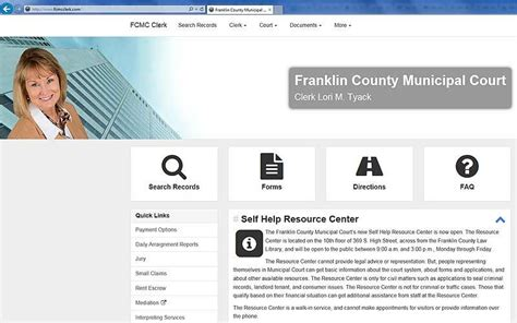 Fcmcclerk Records Franklin County Municipal Court Unveils New Website News The Columbus Dispatch
