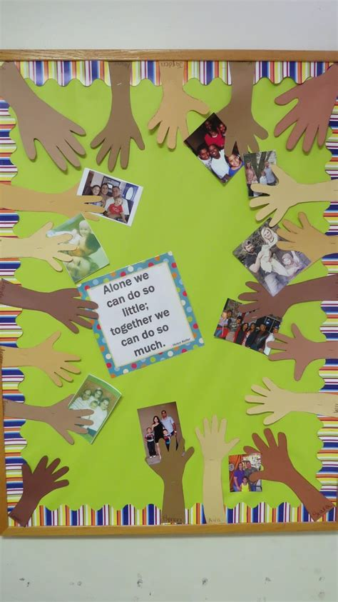 themes related to family prek my style family picture board prek style