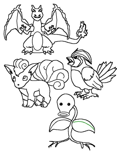 pokemon coloring pages dltk pokemon coloring pages dltk how to draw mon bulbasaur