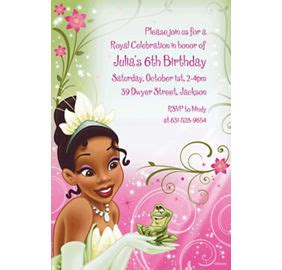 princess and the frog invitations printable custom princess and the frog invitations thank you notes city