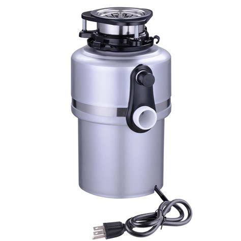 garbage disposal 3 4hp continuous feed home kitchen food