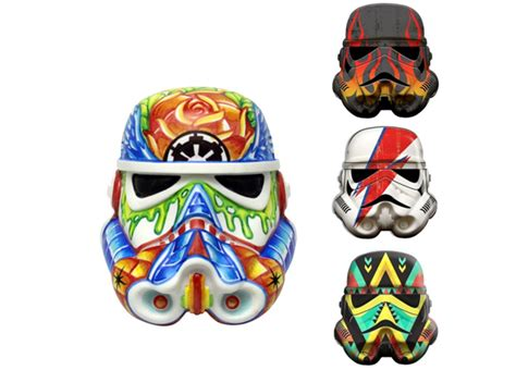 stormtrooper helmet design game star wars design a vinyl stormtrooper helmet rainbow fett