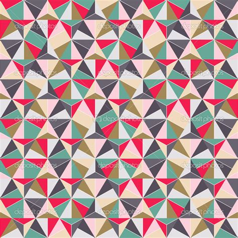 triangle pattern wall geometric triangle shape seamless pattern crafts wood