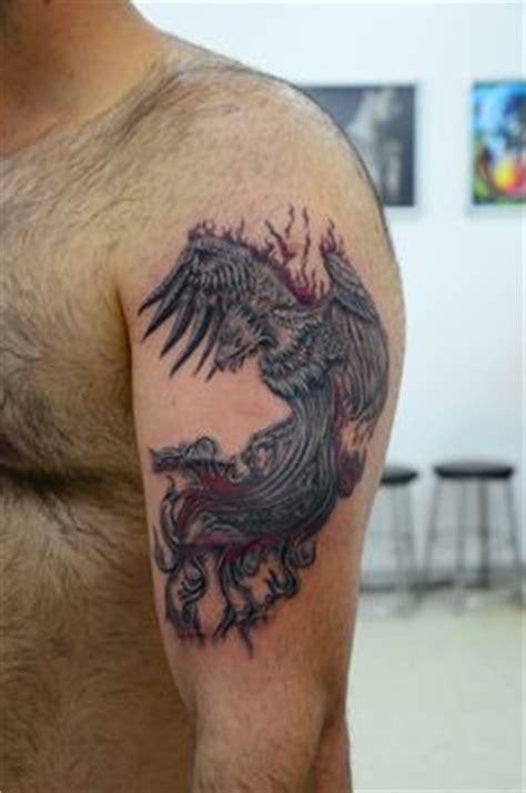 phoenix tattoo piercing phoenix tattoo w shading cool tattoo ideas
