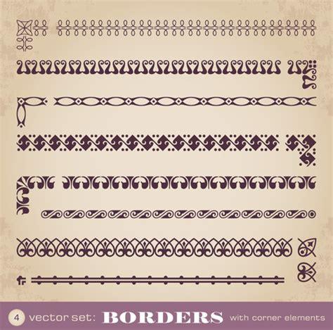 eps format photoshop elements vector vintage border photoshop free vector download