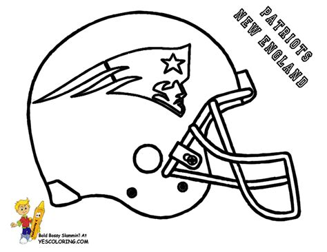 Sketch Of Nfl Football Coloring Pages Nfl Coloring Pages