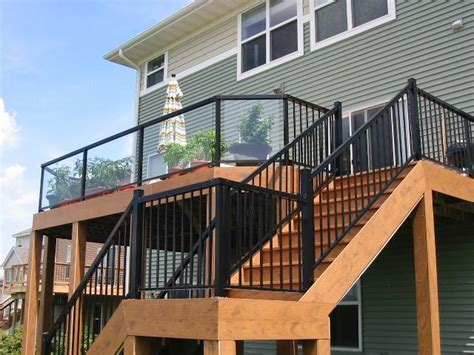 deck railing ideas how to choose the best rail design for
