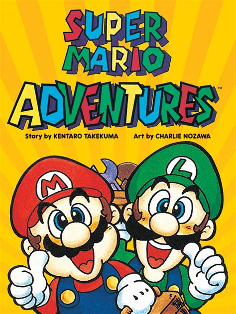 mario adventures viz media obtains publishing rights for mario and
