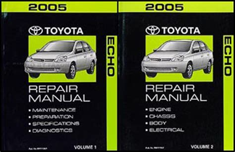 motor auto repair manual 2004 toyota echo transmission control 2004 2005 toyota echo hatchback body collision repair shop manual original