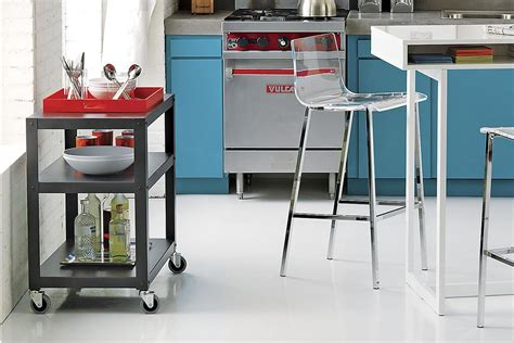 cb2 kitchen island 6 portable kitchen islands to solve your small kitchen woes