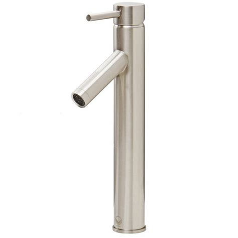 vigo bathroom faucets vigo vg03003bn dior bathroom vessel faucet in brushed nickel