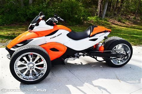 wide motorcycle post spyder canam for sale autos post